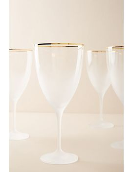 Dobra Wine Glasses, Set Of 4 by Anthropologie
