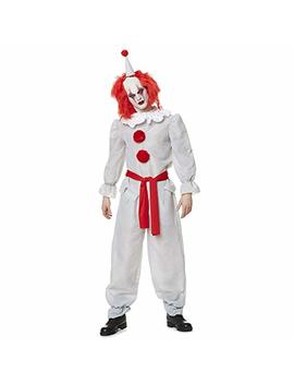 Killer Clown Costume   Halloween Adults Scary Horror Evil Villain Outfit by Karnival Costumes