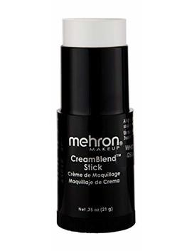 Mehron Makeup Cream Blend Stick (.75oz) (White) by Mehron
