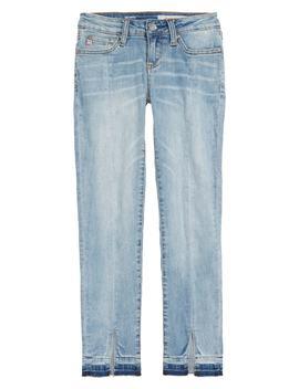 The Teegan Slit Hem Stretch Jeans by Ag Adriano Goldschmied Kids
