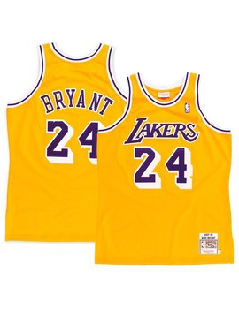 Kobe Bryant Los Angeles Lakers Mitchell & Ness 2008 Authentic Jersey   Gold by Mitchell & Ness