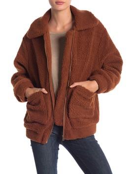 Oversized Teddy Jacket by Elodie