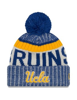 Ucla Bruins New Era Team Sport Cuffed Knit Hat With Pom – Blue by New Era