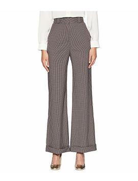 Plaid Wide Leg Trousers by See By Chloe