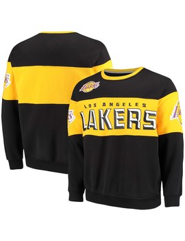 Los Angeles Lakers G Iii Sports By Carl Banks Wild Cat Supreme Ii Long Sleeve T Shirt   Black/Gold by G Iii Sports By Carl Banks