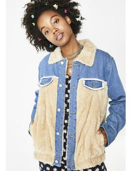 Something About Ya Denim Jacket by Etophe Studios
