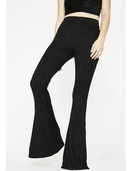 Make It Werk Suede Flares by Bear Dance