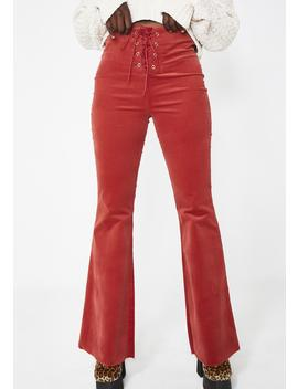 Keep Servin' High Waist Pants by Blue Blush