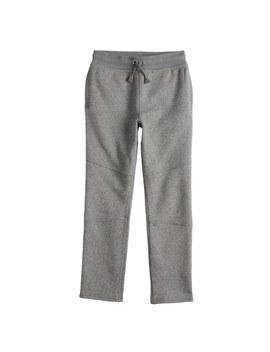 Boys 4 12 Sonoma Goods For Life™ Straight Fleece Pants by Kohl's