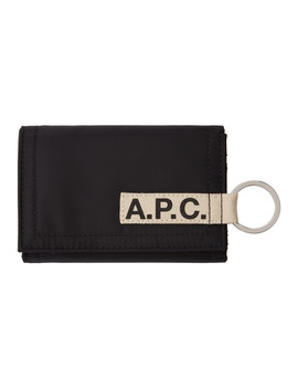 Black Pozzo Wallet by A.P.C.