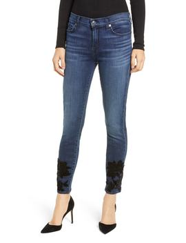 B(Air) The High Waist Ankle Skinny Jeans by 7 For All Mankind®