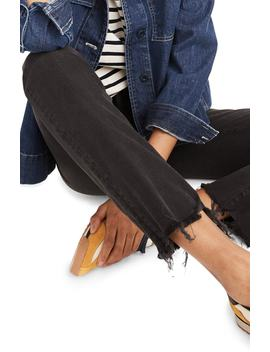 Cali Chewed Hem Demi Bootcut Jeans by Madewell