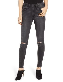 Ripped High Waist Skinny Jeans by Wrangler
