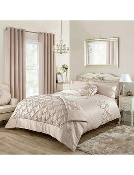 Karissa Champagne Bed Linen Collection by Dunelm