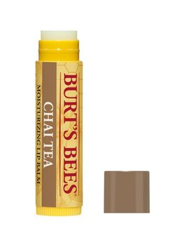 Bees 100 Percents Natural Moisturizing Lip Balm, Chai Tea With Beeswax   1 Tube by Burt's Bees
