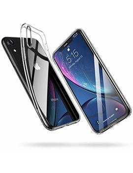 esr-iphone-xr-case,-slim-clear-soft-tpu-gel-case-flexible-silicone-protective-cover-[supports-wireless-charging]-for-the-61-inch-iphone-xr-(transparent) by esr