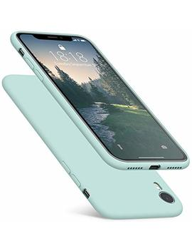 Dtto Case For I Phone Xr, Silicone Case With Hybrid Protection [Shockproof] [Anti Scratch] Cover For Apple I Phone Xr 6.1 Inch (2018 Released) Mint Green by Dtto