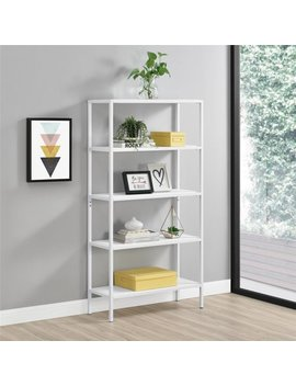 Novogratz Avondale 5 Shelf Bookcase, Multiple Colors by Little Seeds