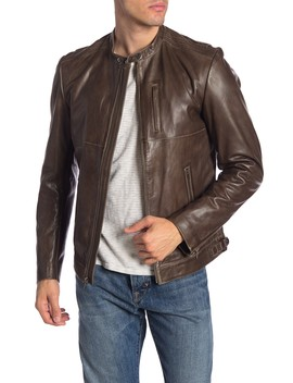 Greg Moto Leather Jacket by Lamarque