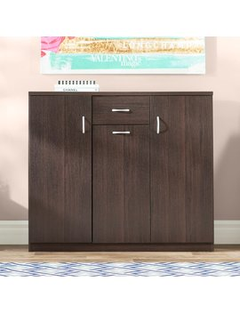 Willa Arlo Interiors Wood 30 Pair Shoe Storage Cabinet & Reviews by Willa Arlo Interiors