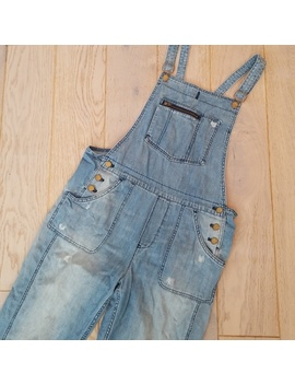 Madewell Light Denim Park Overalls Small by Madewell