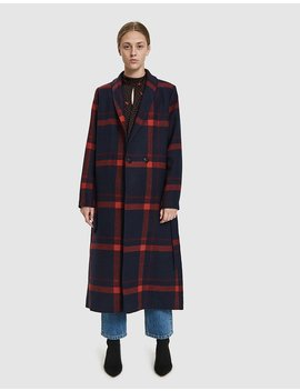 Munch Belted Coat by Just Female