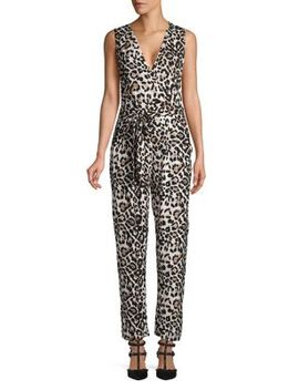 Leopard Print Jumpsuit by Dorothy Perkins