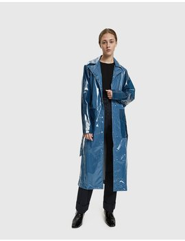 Limited Long Faded Raincoat by Rains