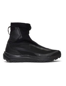 Black Salomon Edition Bamba 2 High Top Sneakers by 11 By Boris Bidjan Saberi