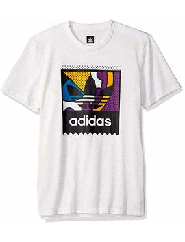 Adidas Originals Men's Skateboarding Logo Tee by Adidas+Originals