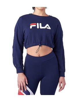 Charlotte Crop Sweatshirt by Fila