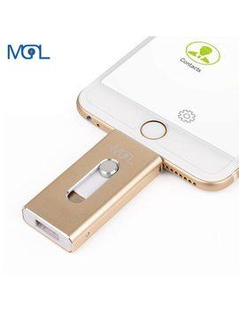 Otg Usb Flash Drive 8 Gb 16 Gb 32 Gb 64 Gb Pen Drive Hd External Storage Memory Stick For Iphone 7 7 Plus 6 6s Plus 5 S Ipad Pendrive by Mgl