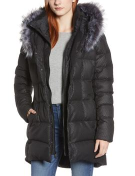Hey Mama Water Repellent 550 Fill Power Down Parka With Faux Fur Trim by The North Face