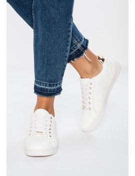 Onlshiloh Metallic   Sneakers Laag by Only Shoes