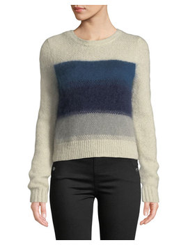 Holland Cropped Crewneck Sweater by Rag & Bone