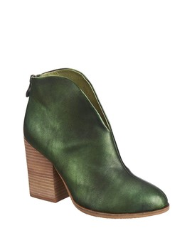 Hi Cut Leather Bootie by Antelope