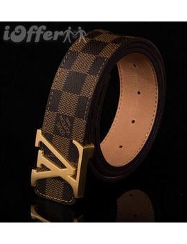 Louis Vuitton Belt Genuine Leather Belt Belts by I Offer