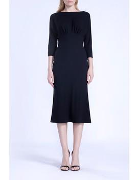 Boatneck Midi Dress by Isabel Garcia