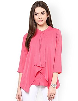 Rare Women's Georgette Layered Top by Rare