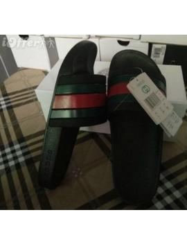 Gucci Lv Women Rubber Slide Sandal Slippers Flip Shoes by I Offer