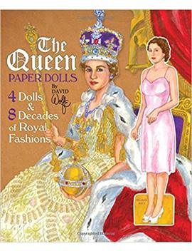Queen Elizabeth Paper Dolls: 4 Dolls & 8 Decades Of Royal Fashions by Amazon
