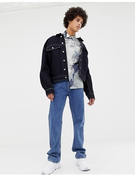 Noak Shirt With Face Print With Short Sleeves by Noak