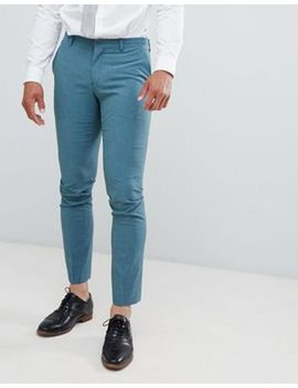 Selected Homme – Gröna Kostymbyxor I Skinny Fit Med Stretch by Selected Homme