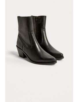 Uo Black Western Boot by Urban Outfitters