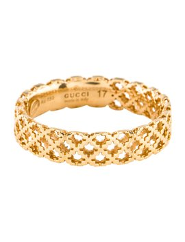 18 K Diamantissima Band by Gucci