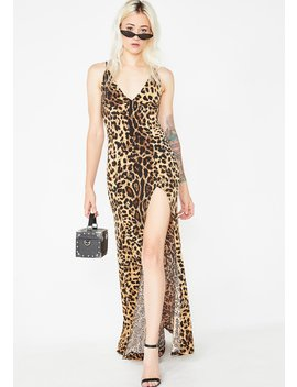 Furiously Fierce Leopard Dress by Kiki Riki
