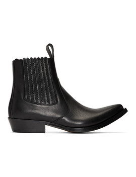 Black Cb3 Chelsea Boots by Givenchy