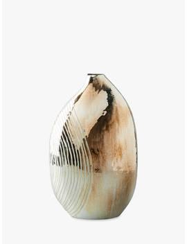 Anthropologie Mercury Obloid Vase, Brass, H36cm by Anthropologie