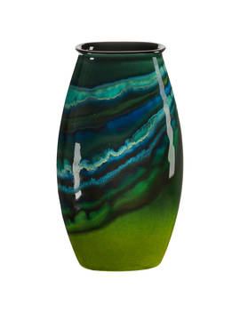 Poole Pottery Maya Manhattan Vase, H26cm by Poole Pottery