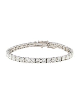 18 K Diamond Line Bracelet by Bracelet